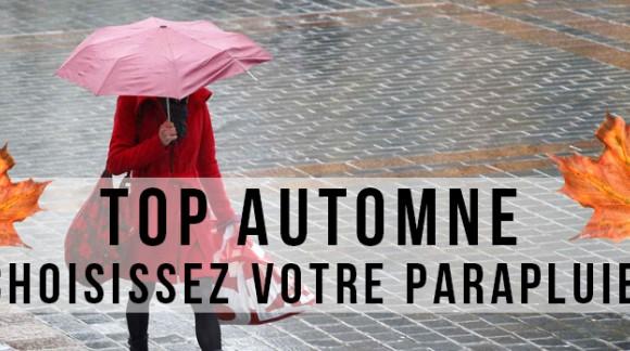 Top Automne: Choisissez votre parapluie