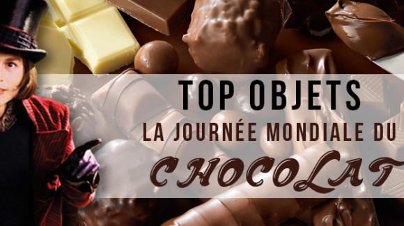 Top objets: La journée mondiale du chocolat