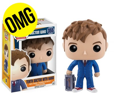 Figurine Doctor Who 10th Doctor with hand pop 10cm