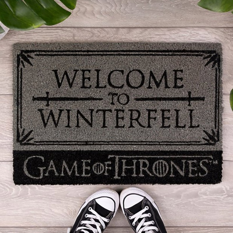Paillasson welcome to winterfell