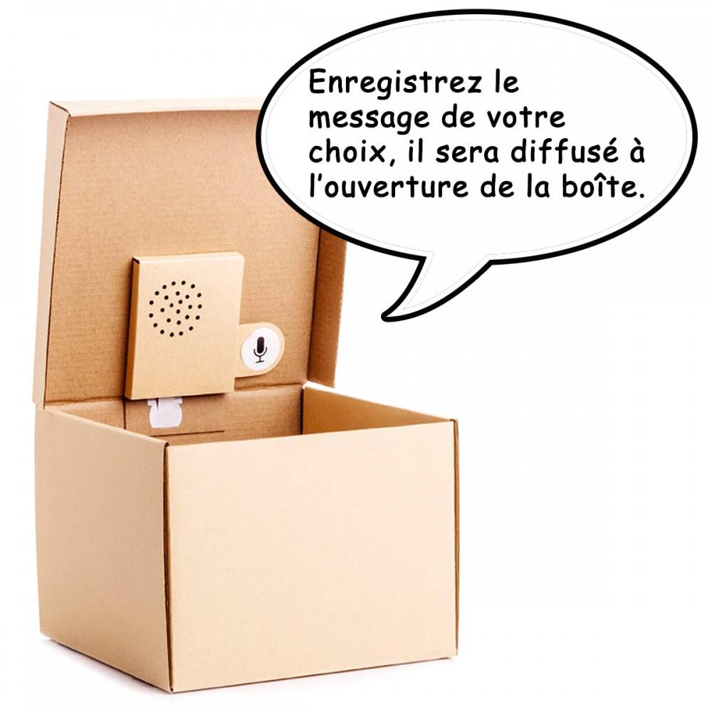Boite cadeau à messages