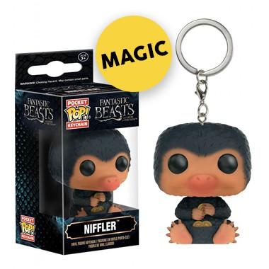 Porte clé pop figurine fantastic beasts niffler
