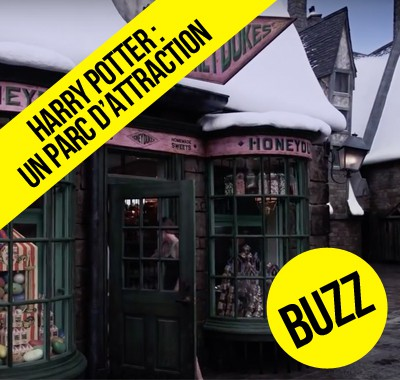 Un nouveau parc d'attraction Harry Potter