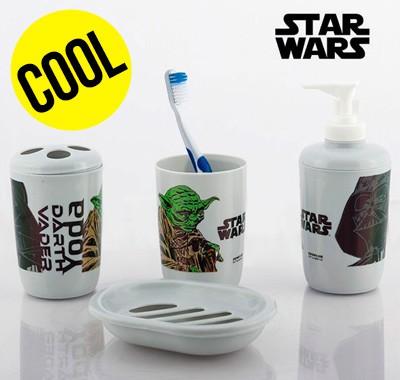 Accessoires de salle de bain Star Wars 4 pièces