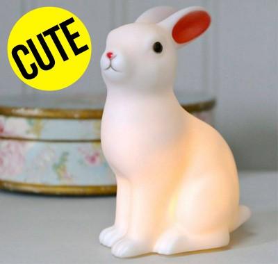Lampe veilleuse lapin pour enfants