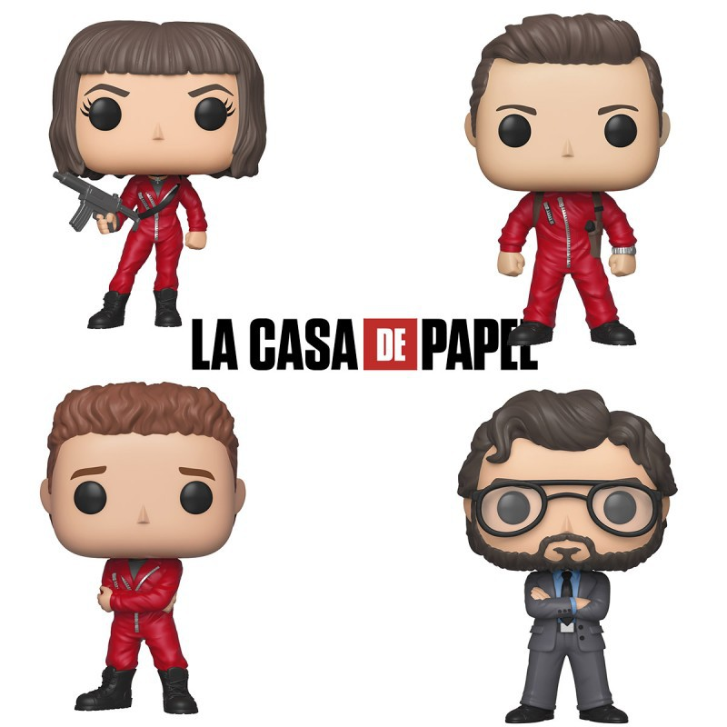 Figurine pop Casa de papel
