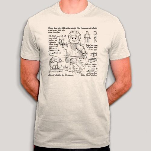 T-shirt plans de Lego