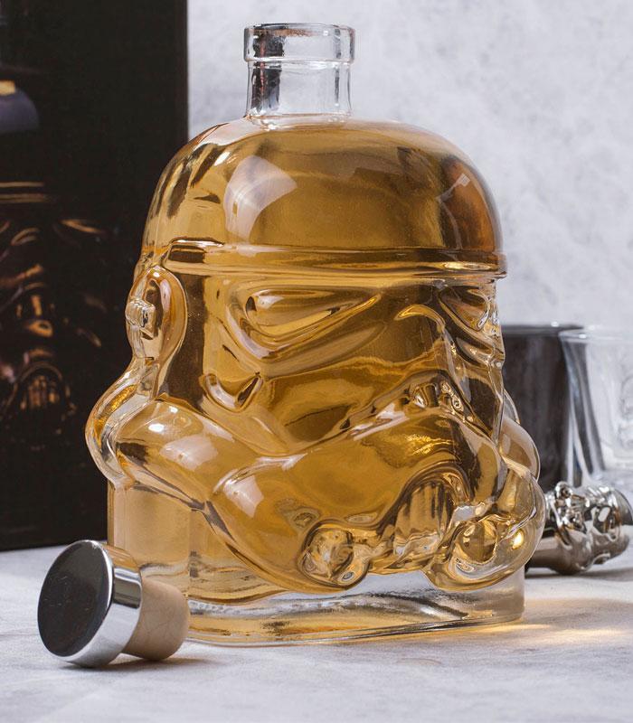 Carafe à vin star Wars stormtrooper