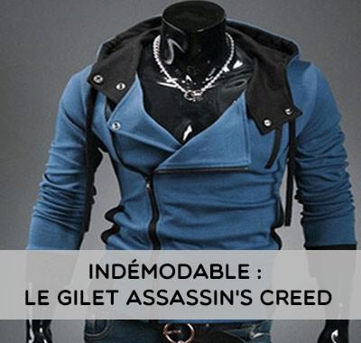 Le gilet à capuche Assassin's Creed pour tous les passionnés